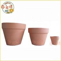【向花緣】日式素色陶瓷盆栽 - 6吋