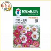 【向花緣】農友 紋瓣大波斯 - 花卉種子
