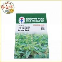 【向花緣】農友 檸檬蘿勒 - 香藥草種子