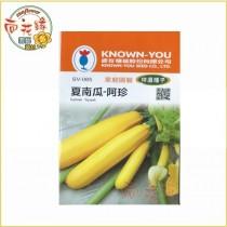 【向花緣】農友 夏南瓜 - 阿珍 - 特選種子