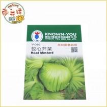 【向花緣】農友 包芯芥菜 - 蔬菜種子