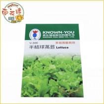 【向花緣】農友 半結球萵苣 - 蔬菜種子