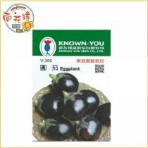 【向花緣】農友 圓茄 - 蔬菜種子